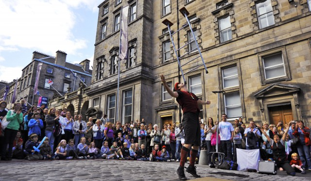 Edinburgh Festival and Fringe 2018