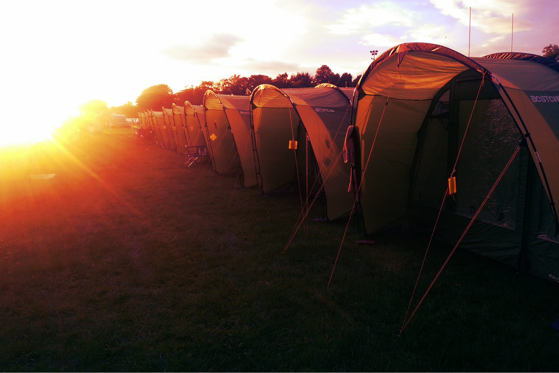 Brilliant Campsites at The World's Best Events