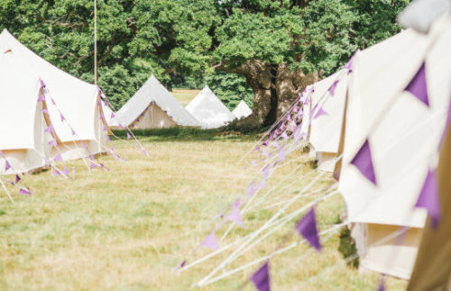 Glamping and VIP Bell Tents Camp Cardiff Gallery
